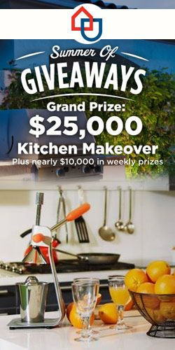 Win A $25,000 Kitchen Makeover (With Images)