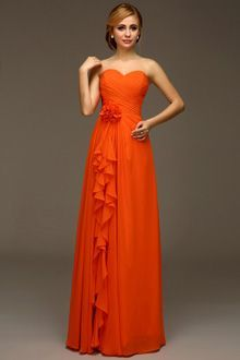 Bridesmaid Dresses Burnt Orange