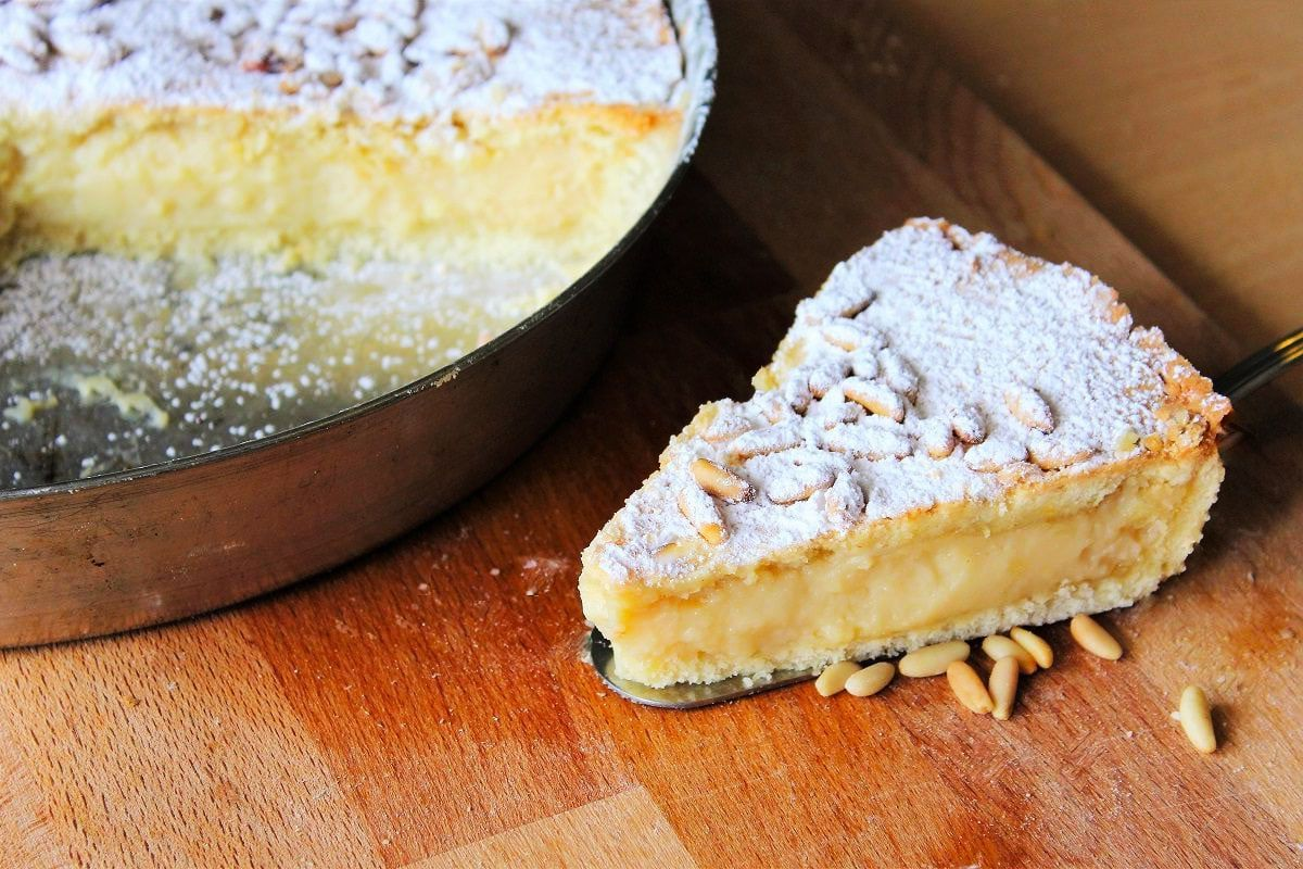 Photo of Torta della Nonna Recipe – Italian Pastry Cream Tart – Torta del