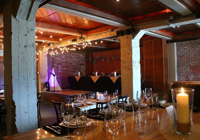 Brewery Wedding Industrial Reception Exposed Brick Wall Yellowead Edmonton