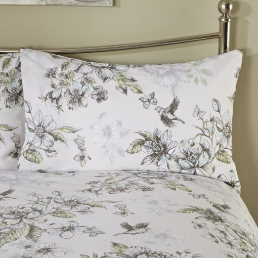 By Sainsbury S Botanical Fl Print Duvet Cover Set Covers Bedding Home