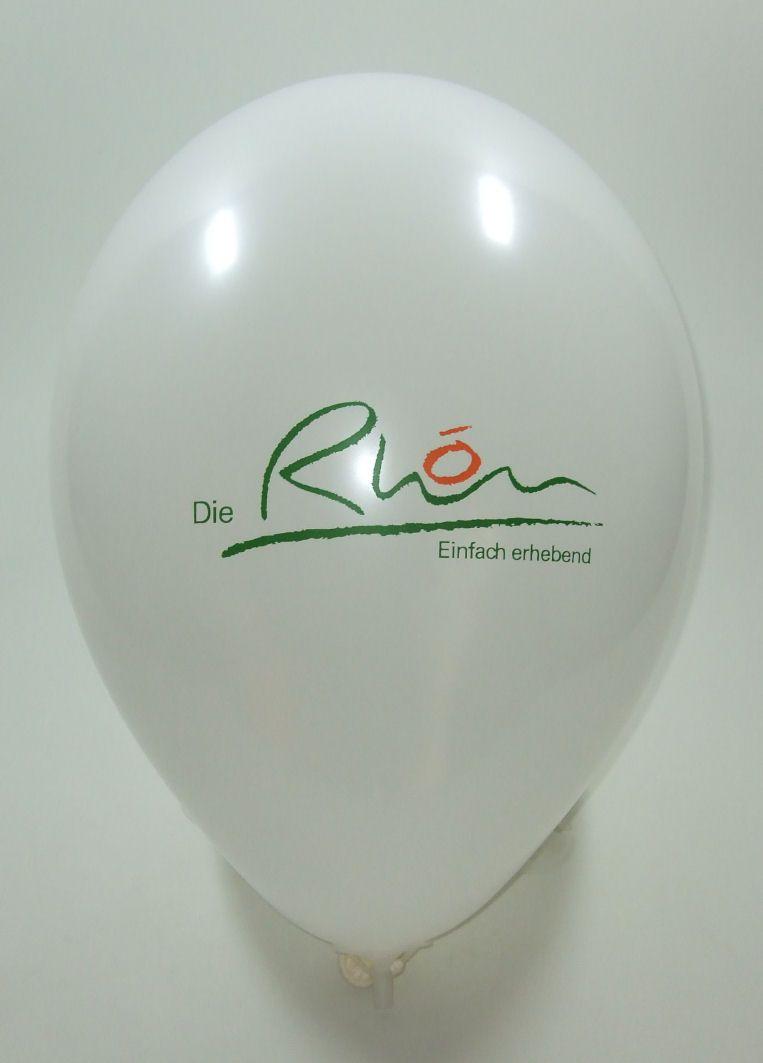 #2 #farbig bedruckter #Werbeballon