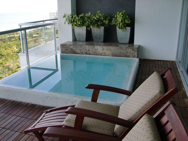 Mini Pool On The Balcony Jacuzzi Outdoor Balcony Pool Apartment Pool