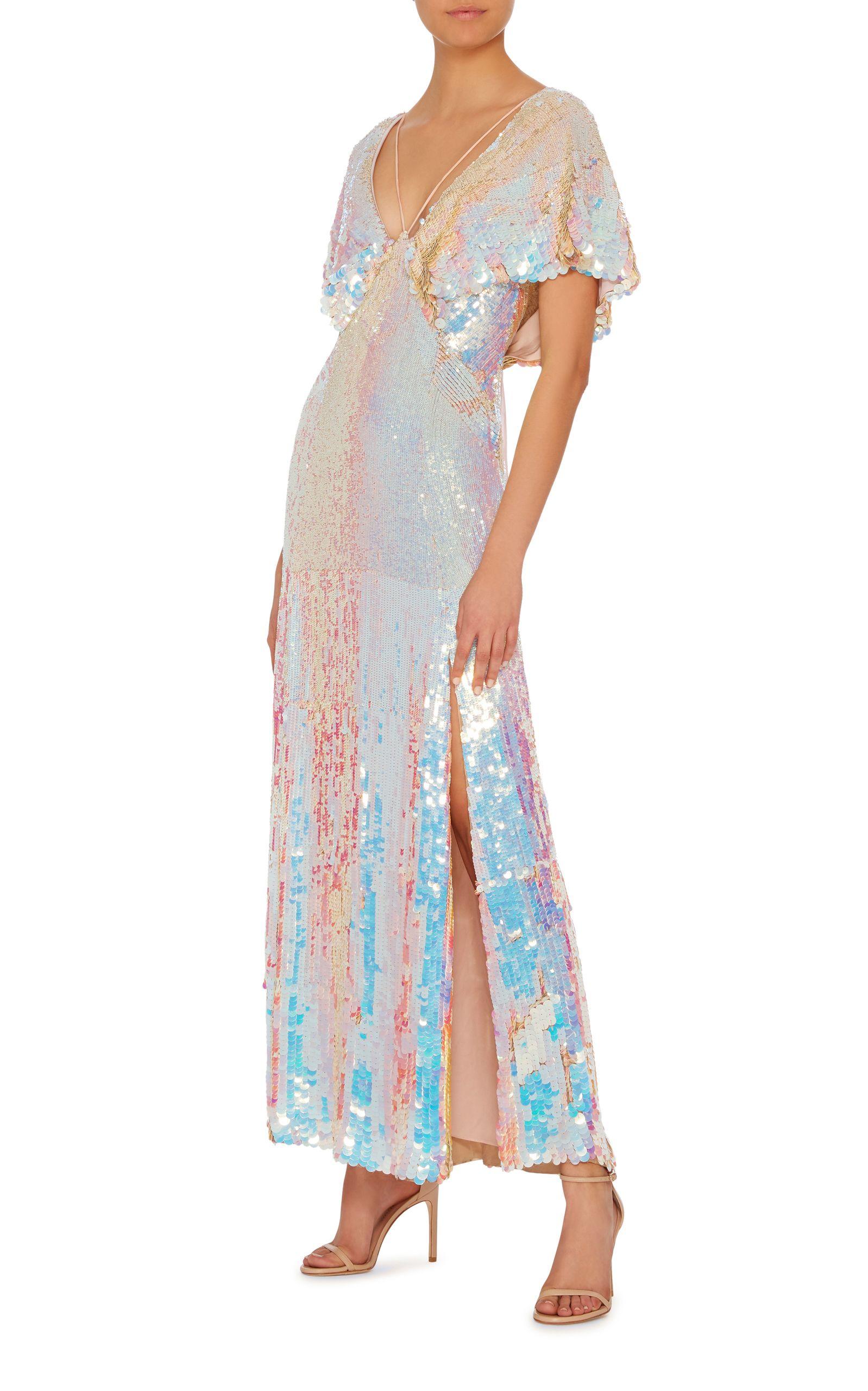 d16fdcbd390e Bardot Metallic Dress by TEMPERLEY LONDON Now Available on Moda Operandi