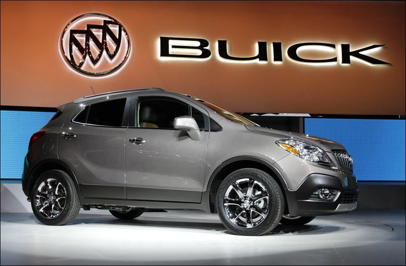 The 2016 Buick Encore Was Determined To Deliver Lowest Ownership Costs In Luxury Compact Suv Crossover Cl According Kelley Blue Book