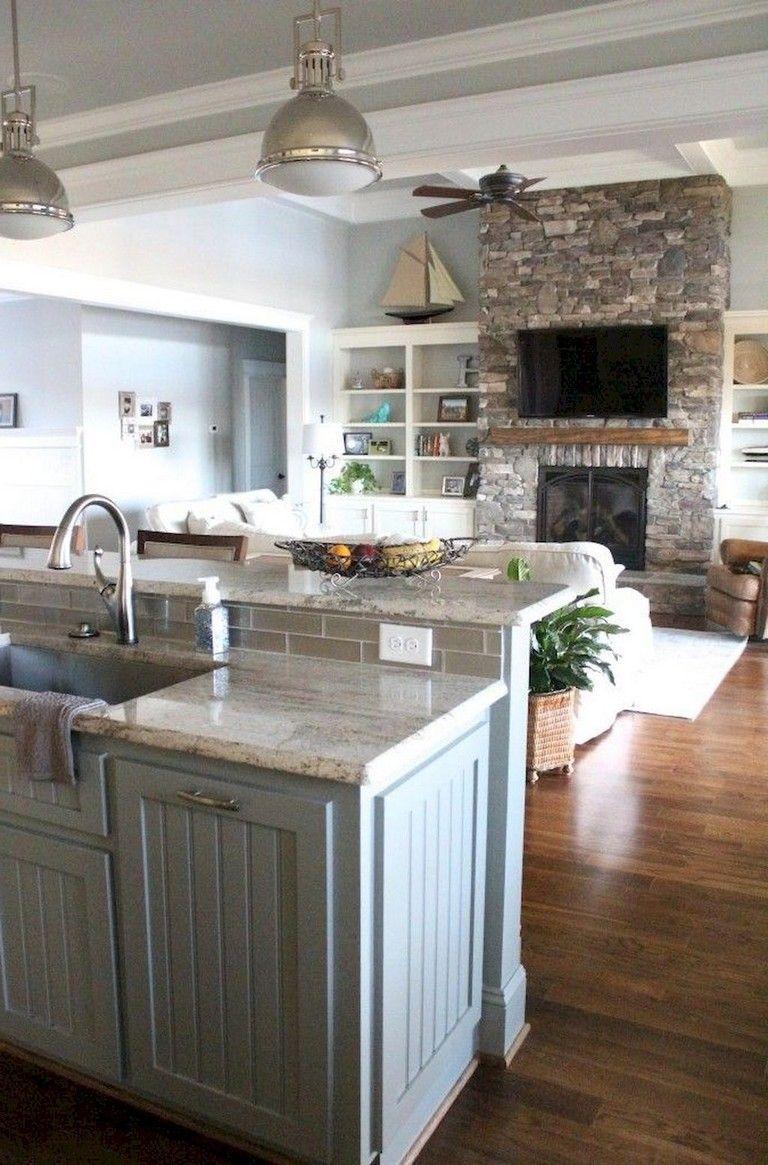 33 Admirable Practical Kitchen Ideas You Will Definitely Like Lake House Kitchen Kitchen Remodel Small Home Decor Kitchen