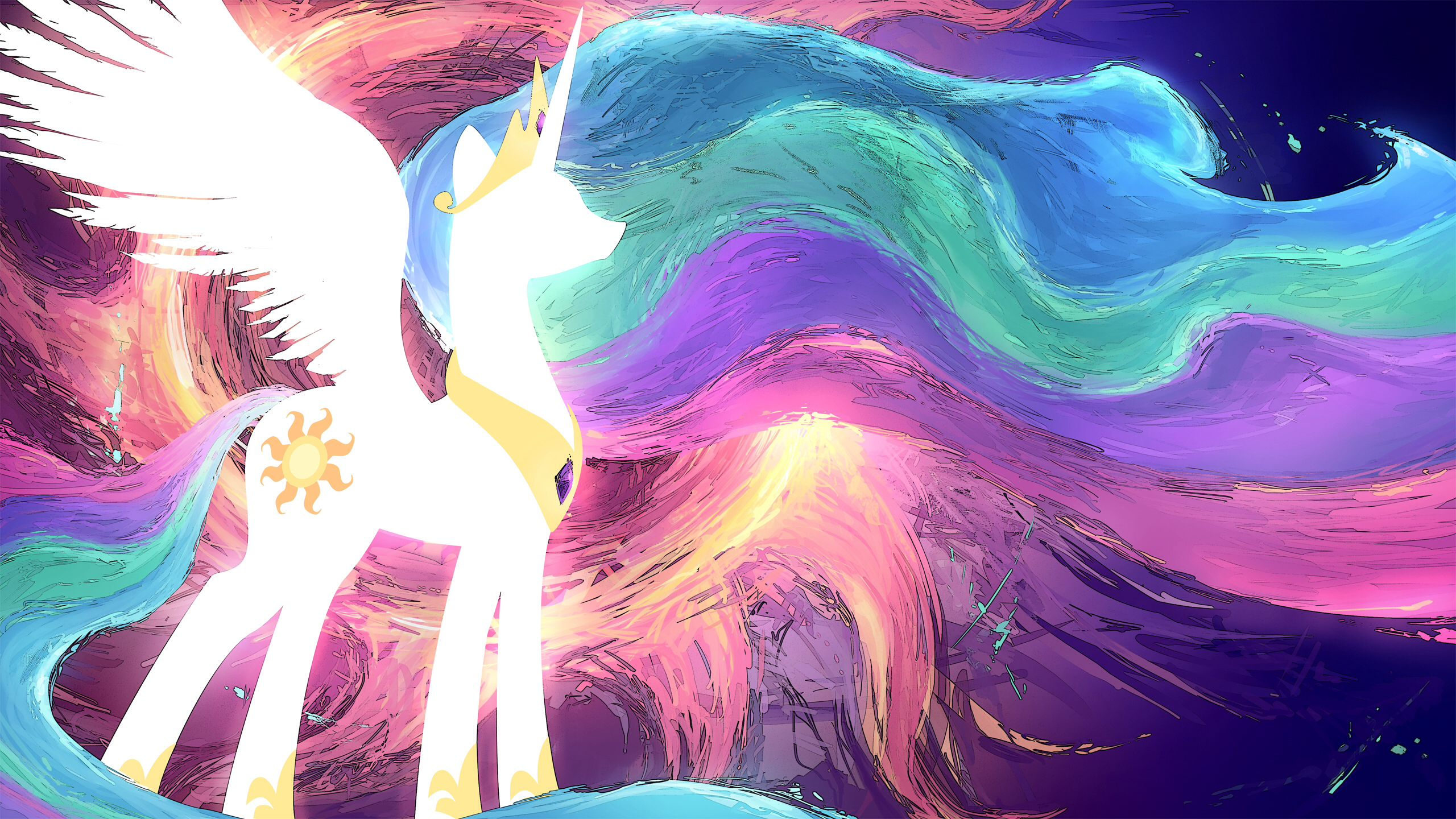 Found Some Awesome Wallpaper The Ponification Of My Computer Is