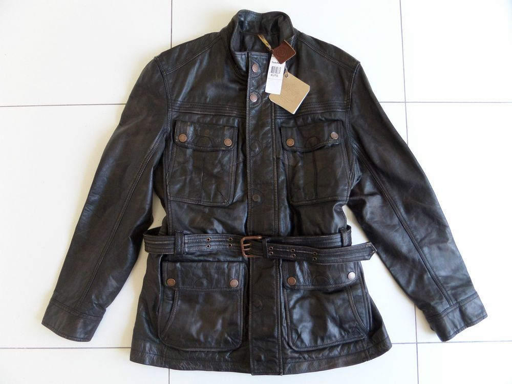 Desmañado Múltiple sección  TIMBERLAND ABINGTON ELITE LEATHER FIELD COAT JACKET MILITARY MOTORCYCLE XL  £895 #Timberland #JacketsCoats | Vintage sportswear, Blue timberland boots, Field  coat