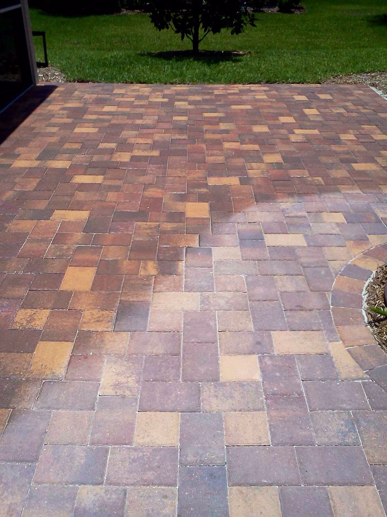 paver clean and seal brick paving