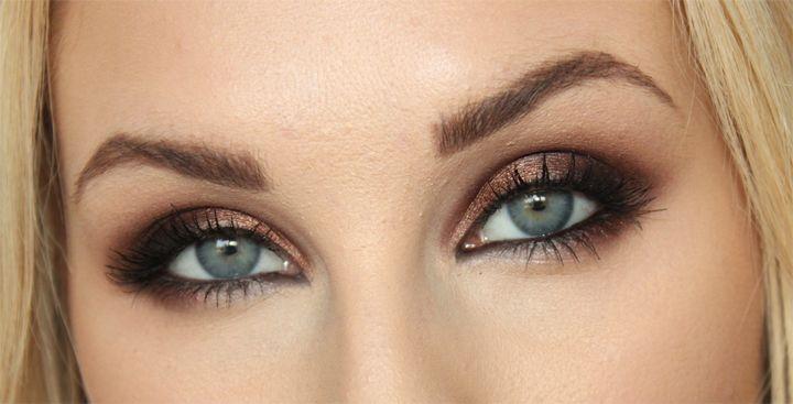 Makeup – Black, brown & bronze by http://blogg.veckorevyn.com/hiilen/2012/03/20/dagens-makeup-black-brown-bronze/