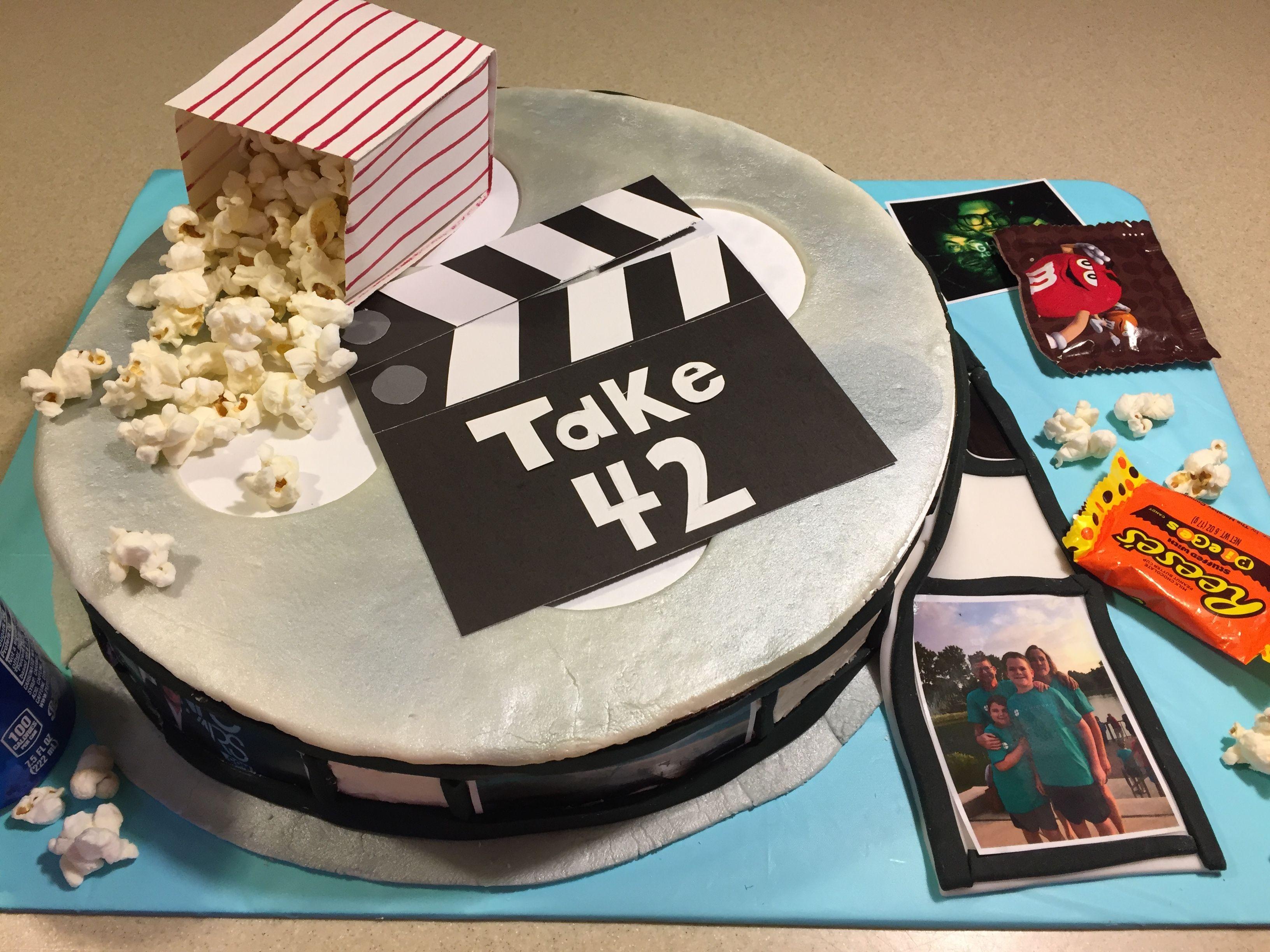 Movie Themed Birthday Cake Cupcakes And All Things Sugar