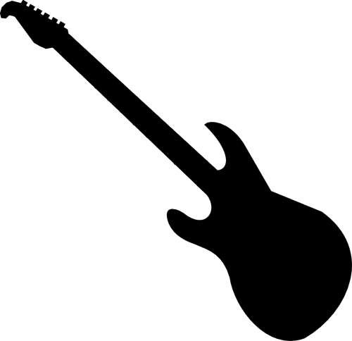 electric guitar clipart black and white free 3 aqua fest