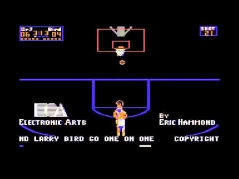 Dr J Vs Larry Bird One On One C64 Intro Larry Bird Larry Intro