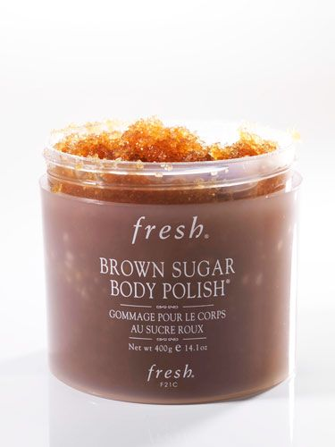 fresh brown sugar body polish how to use