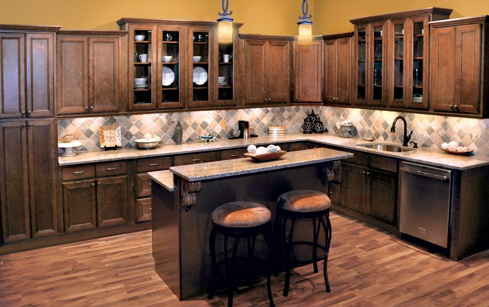 chestnut avalon - kitchen cabinets - kitchen cabinets | the solid