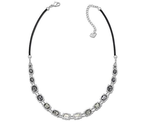 Rosette Dark Necklace