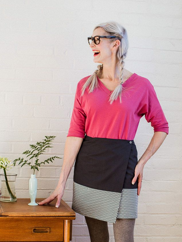 Osaka skirt pattern from Seamwork - to purchase | Sewing | Pinterest