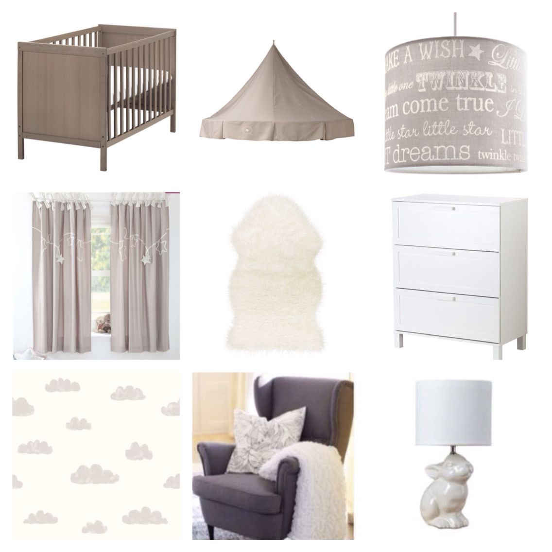 Aneboda Chest Of Drawers Neautral Nursery Inspiration Ikea Sundvik Cot Aneboda Chest Of