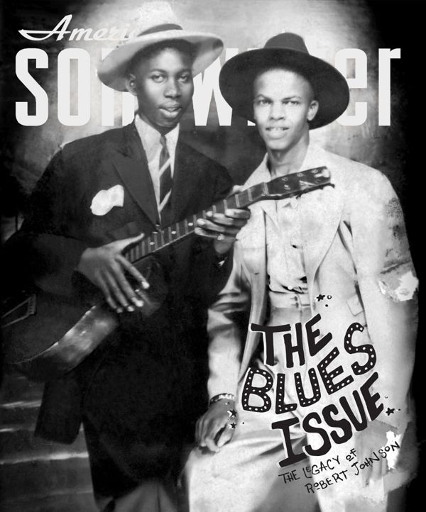 Download Robert Johnson Cover Issue Of American Songwriter Magazine