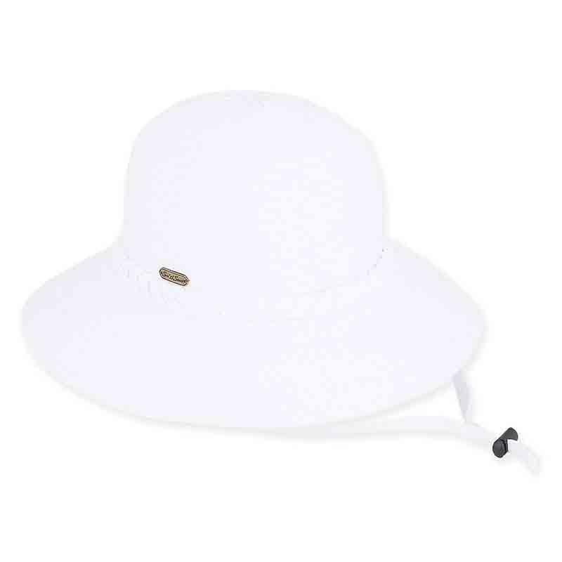 7633e406735 Charlie Ribbon Bucket Hat with Chin Cord by Sun  N  Sand