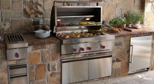 Barbecue a incasso per la cucina | Progetti da provare | Pinterest ...