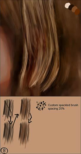 Cgsociety Tutorial How To Paint Realistic Hair Photo Editing Photoshop Photoshop For Photographers Photoshop Editing