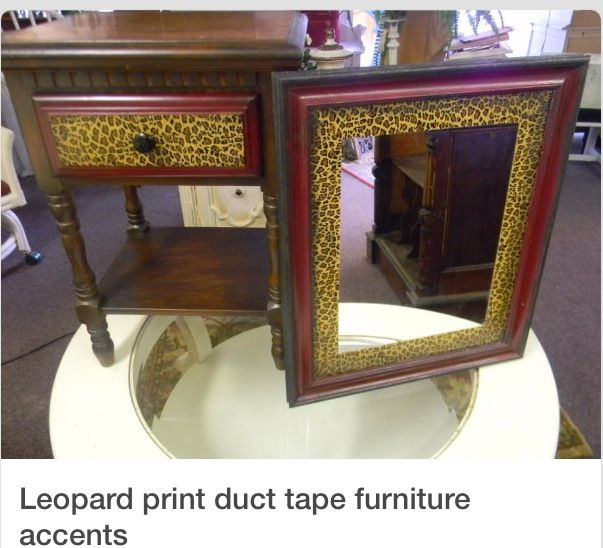 Leopard Duct Tape Cheetah Home Decorating Pinterest
