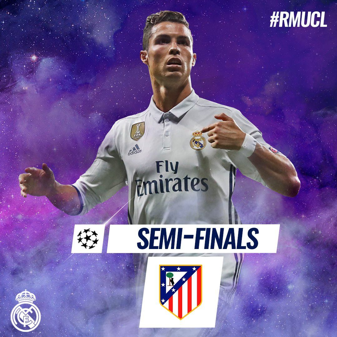 We will face Atlético in the Champions League semifinals