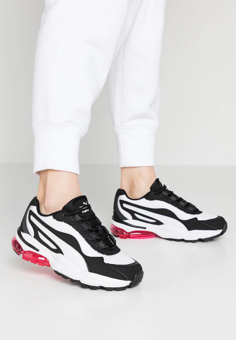 Puma CELL STELLAR - Baskets basses - white/black - ZALANDO.BE