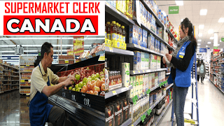 Work In Canada At Supermarket Clerk Clerk Jobs Clerks Supermarket