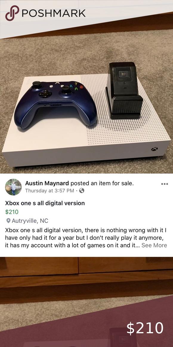 Xbox One S 1tb All Digital Edition In 2020 Xbox One S Xbox One S 1tb Xbox One