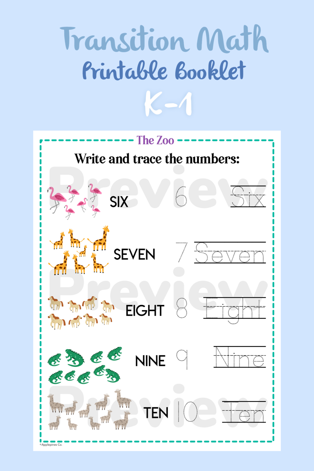 Do You Know The Zoo Transition Math Printable Worksheets For Etsy Math Printables Math Printable Worksheets [ 1800 x 1200 Pixel ]
