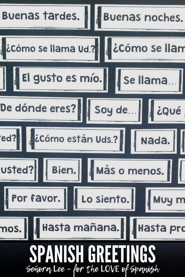 Spanish greetings word wall pared de palabras spanish spanish greetings word wall 53 greetings farewells expressions of courtesy must have visual resource get students greeting one another quickly by m4hsunfo