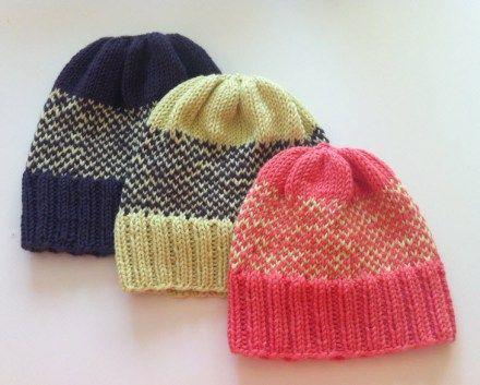 PATTERN: Easy Fair Isle Baby Hat | Baby hats, Fair isles and Fair ...