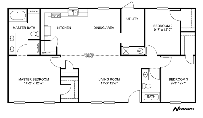Clayton homes home floor plan manufactured modular mobile also rh pinterest