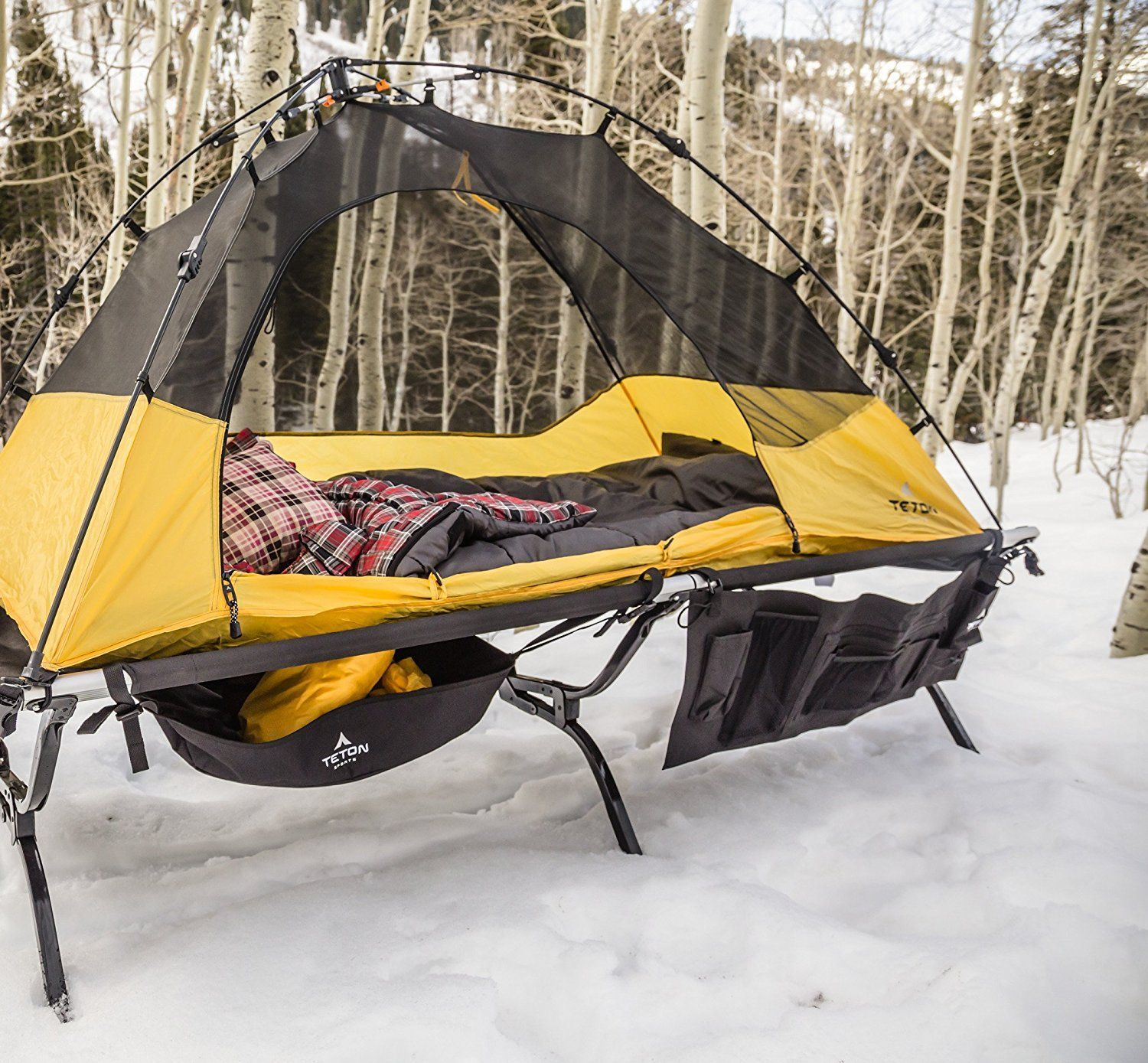 Sleeping In Style Http Campingtentslovers Com Beginners Camping Guide Lit Camping Hamac De Camping Camping En Hiver