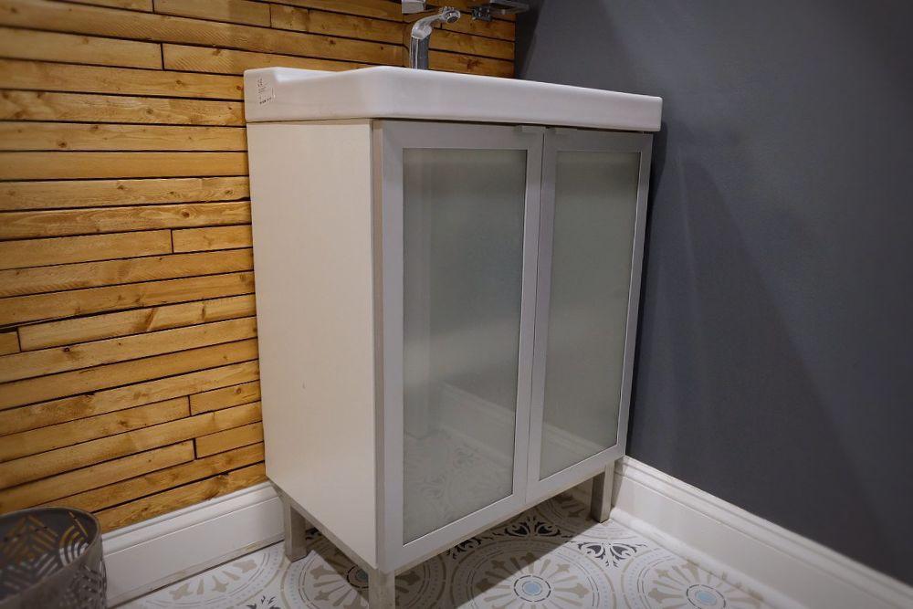 Easy Ikea Bathroom Cabinet Hack For More Storage Ikea Bathroom