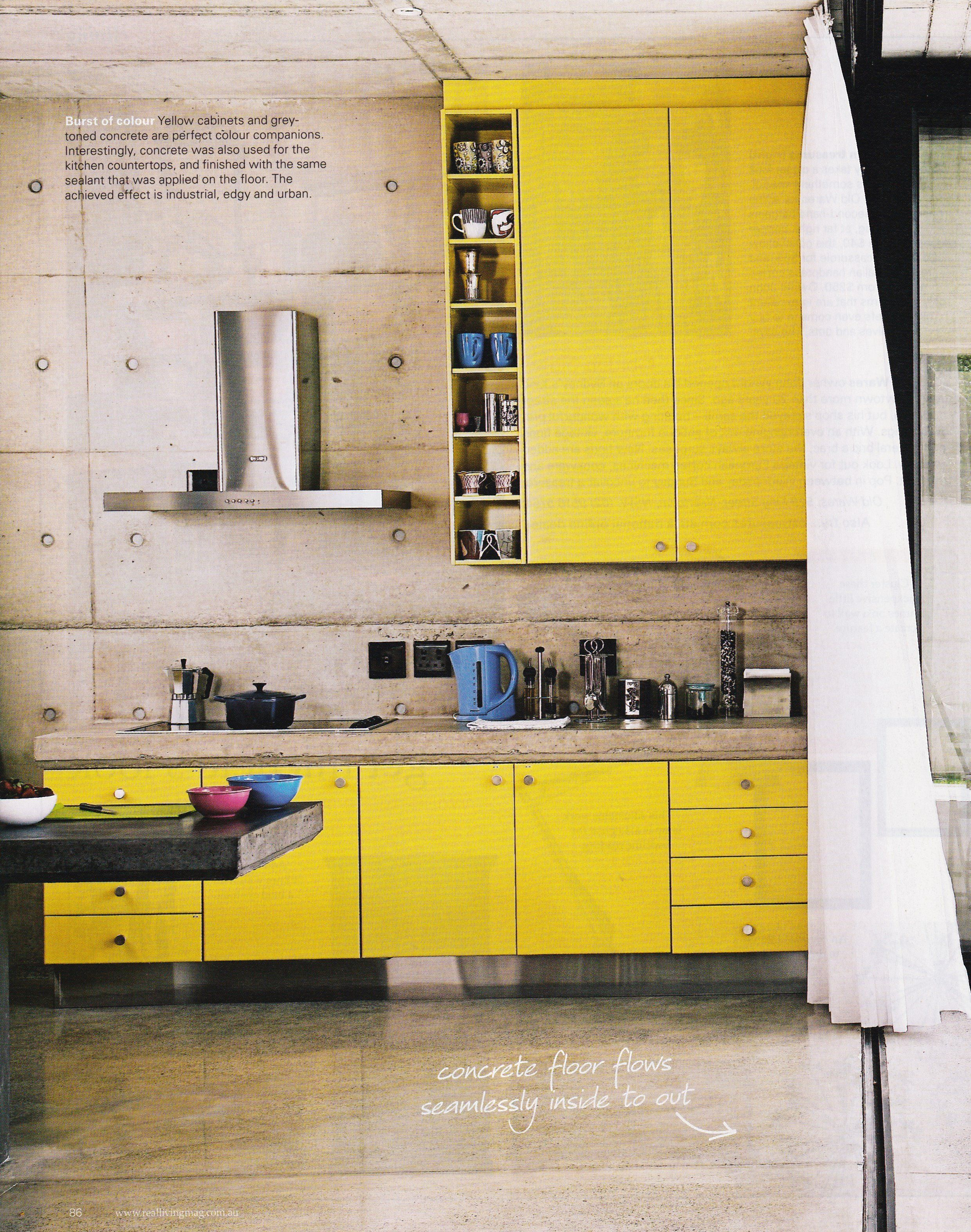 yellow kitchen | eat | Pinterest | Kitchens