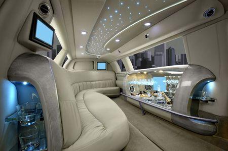 Asm Edition 8 Passenger Limousine Limousine Interior