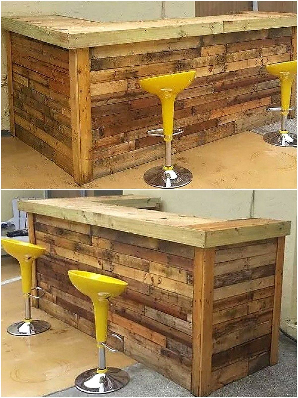 Wooden Pallet Bar Project