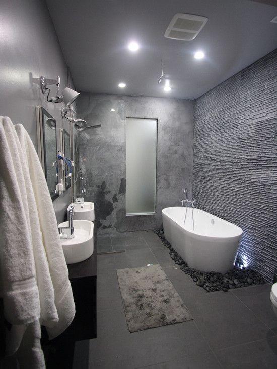 Concrete Finish Walls Design Pictures Remodel Decor And Ideas