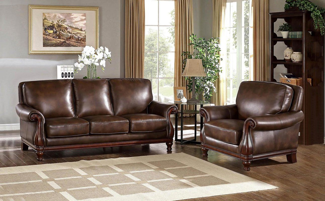 Shopping Online Autumn Leather 2 Piece Living Room Set By Fleur De Lis Living Living Room Sets Leather Sofa And Loveseat Wayfair Living Room Sets