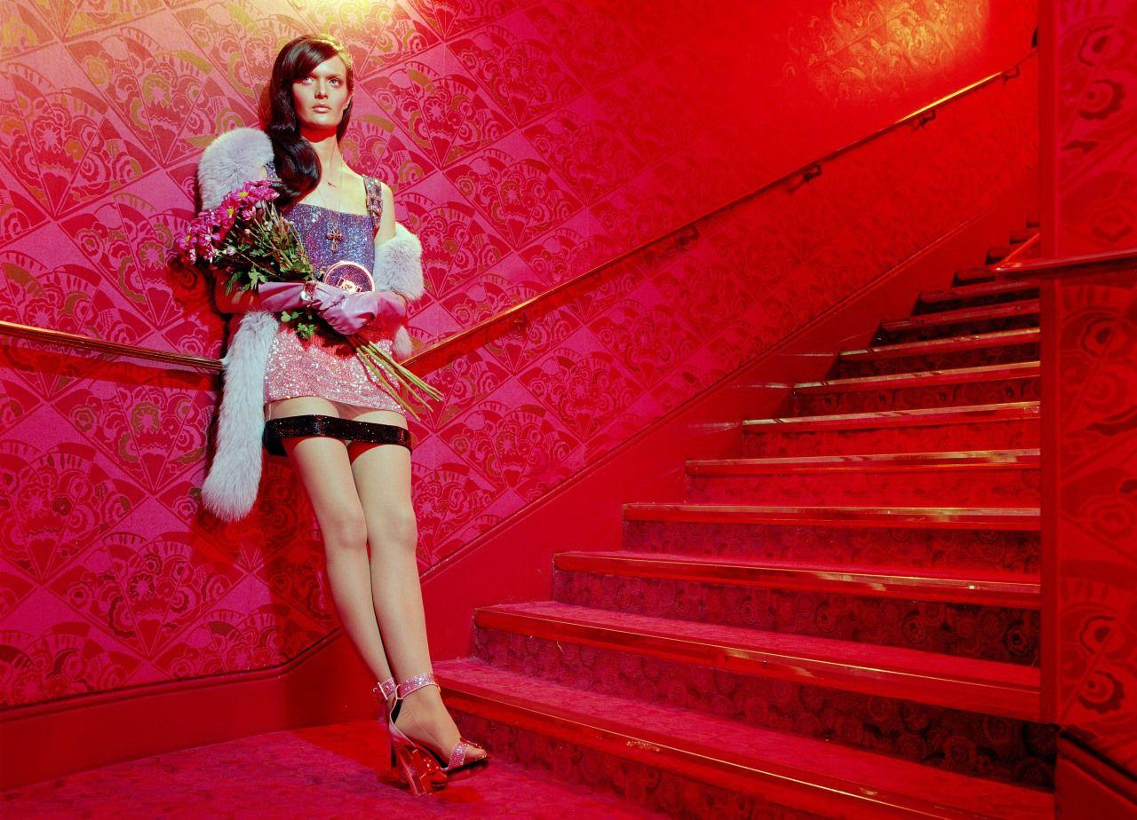 Sam Rollinson by Miles Aldridge for Vogue Italia February 2015