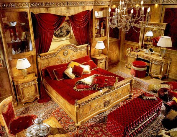 Barock Schlafzimmer einrichtung - wie die Adligen schlafen - schlafzimmer barock