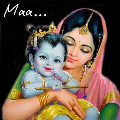What A Beautiful Picture Mother Yashoda With Her Son Lord Krishna Cute Krishna Baby Krishna Lord Krishna Images