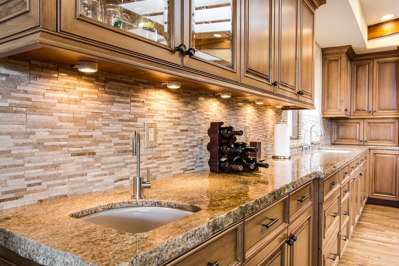 With Many Amazing Under Counter Lighting Choices This Is Just One Of Them What A Beaut Refacing Kitchen Cabinets Beautiful Kitchens Kitchen Remodel Checklist