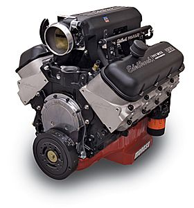 Chevy Big Block Supercharged, stuff it into the muscle car