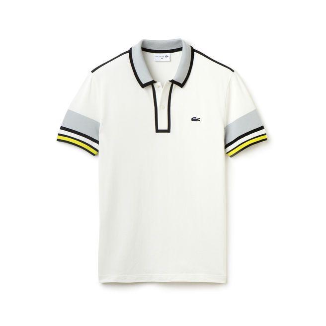 Polo Lacoste Slim Fit Edition Made In France En Pique 2 Fils Avec Details Contrastes Polo Lacoste Polo Polo Pour Hommes