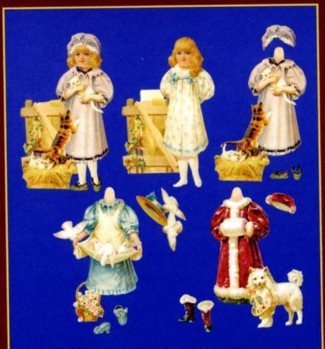 # dress-up dolls # Viktorianische Anziepuppe von MLP wunderschön ! R.Tuck