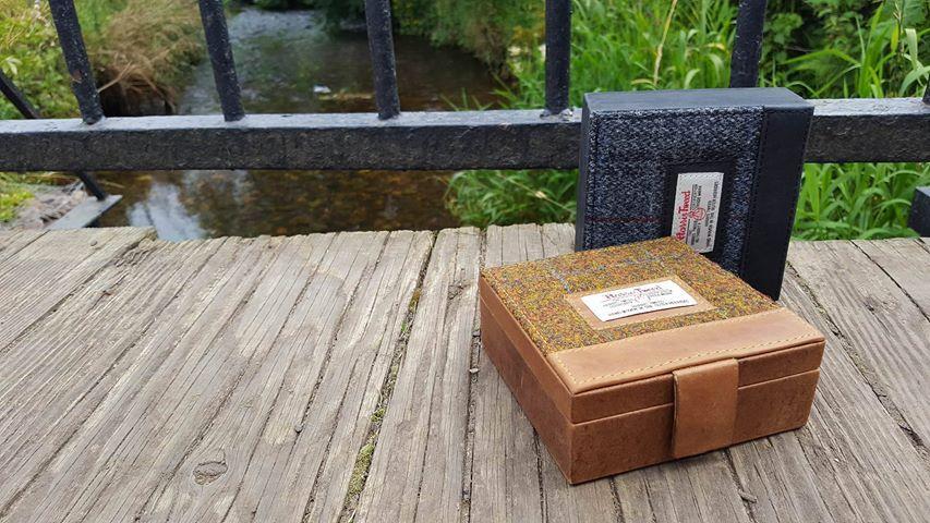 e71ab00a7c5d Harris Tweed Stornoway Trinket Box